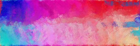 abstract seamless pattern brush painted texture with pale violet red, royal blue and pastel magenta color. can be used as wallpaper, texture or fabric fashion printing. 版權商用圖片