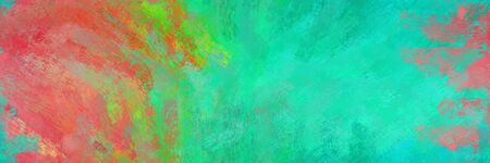 background pattern. grunge abstract background with indian red, light sea green and dark sea green color. can be used as wallpaper, texture or fabric fashion printing. 스톡 콘텐츠