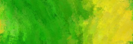 abstract seamless pattern brush painted texture with forest green, golden rod and yellow green color. can be used as wallpaper, texture or fabric fashion printing.