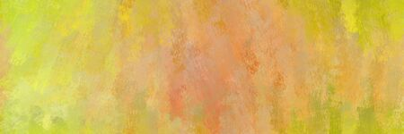abstract seamless pattern brush painted background with dark khaki, golden rod and khaki color. can be used as wallpaper, texture or fabric fashion printing. 스톡 콘텐츠