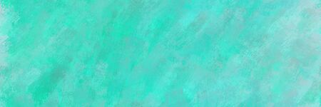 abstract seamless pattern brush painted background with medium turquoise, sky blue and dark turquoise color. can be used as wallpaper, texture or fabric fashion printing.