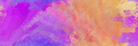 abstract seamless pattern brush painted background with pale violet red, medium orchid and dark salmon color. can be used as wallpaper, texture or fabric fashion printing.
