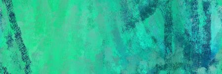 seamless pattern art. grunge abstract background with light sea green, teal green and teal color. can be used as wallpaper, texture or fabric fashion printing.