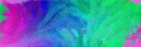 abstract seamless pattern brush painted texture with light sea green, medium orchid and dark slate blue color. can be used as wallpaper, texture or fabric fashion printing.