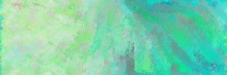 abstract seamless pattern brush painted texture with dark sea green, ash gray and light sea green color. can be used as wallpaper, texture or fabric fashion printing. 스톡 콘텐츠