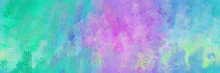 repeating pattern. grunge abstract background with sky blue, light sea green and plum color. can be used as wallpaper, texture or fabric fashion printing. 스톡 콘텐츠
