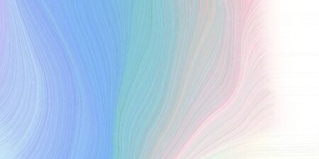 modern soft swirl waves background illustration with sky blue, misty rose and light gray color.