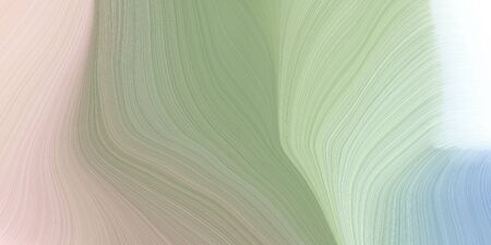 smooth swirl waves background illustration with dark sea green, light gray and pastel gray color.
