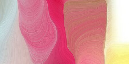 smooth swirl waves background illustration with pale violet red, light gray and moderate pink color.
