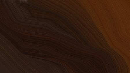 simple colorful modern soft curvy waves background illustration with very dark pink, chocolate and very dark red color.
