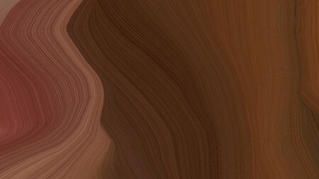 simple elegant curvy background illustration with old mauve, chocolate and pastel brown color.