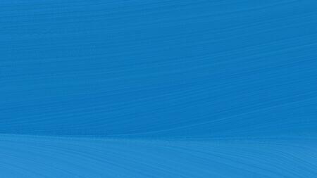 simple colorful elegant curvy swirl waves background illustration with strong blue, steel blue and dodger blue color. Reklamní fotografie