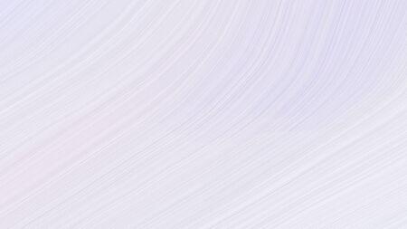 simple elegant modern waves background design with lavender, white smoke and light gray color. Banco de Imagens