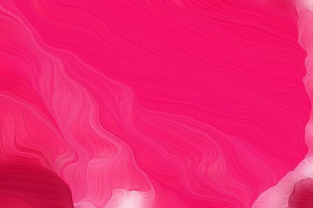bright colors modern curvy waves background design with bright pink, pastel magenta and pale violet red color.