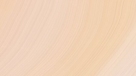 simple elegant modern soft swirl waves background illustration with wheat, burly wood and antique white color.