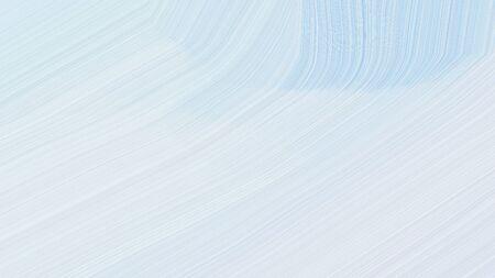 simple elegant modern curvy waves background design with lavender, light blue and powder blue color.