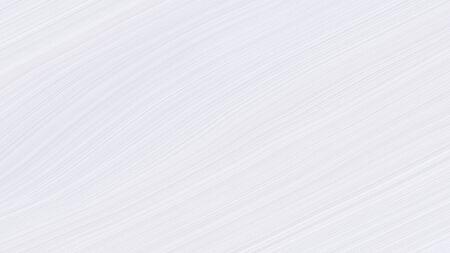 simple elegant modern curvy waves background illustration with lavender, light gray and snow color. Reklamní fotografie