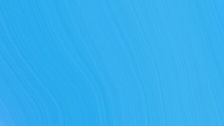 simple elegant smooth swirl waves background illustration with dodger blue, medium turquoise and corn flower blue color.