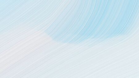simple elegant modern curvy waves background illustration with lavender, light blue and sky blue color.