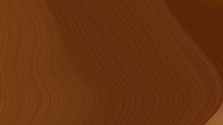 simple elegant modern soft swirl waves background design with chocolate, brown and sienna color.