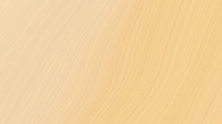 simple elegant modern waves background design with skin, khaki and wheat color.