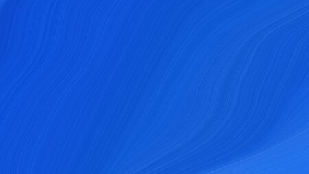 simple elegant modern soft swirl waves background design with strong blue and royal blue color.