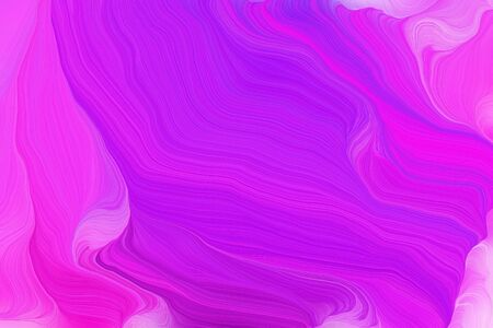 vibrant colors modern waves background design with dark orchid, violet and magenta color.