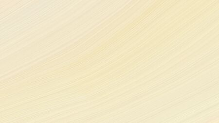 simple elegant modern waves background illustration with bisque, beige and wheat color.