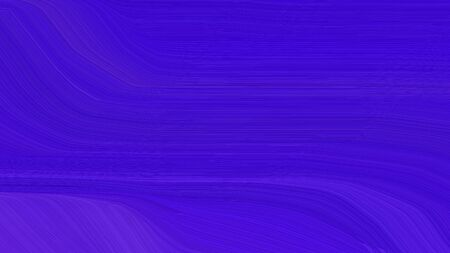 simple elegant smooth swirl waves background illustration with medium blue, blue violet and indigo color.