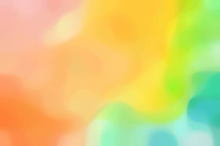blurred iridescent universal background graphic with burly wood, pastel orange and medium aqua marine colors and space for text or image. 写真素材