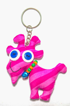 knickknack: key chain isolate on white background