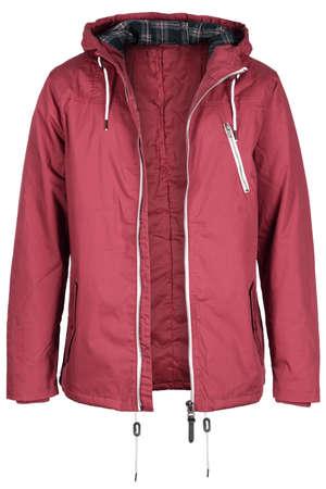 unzipped: Unzipped pink jacket