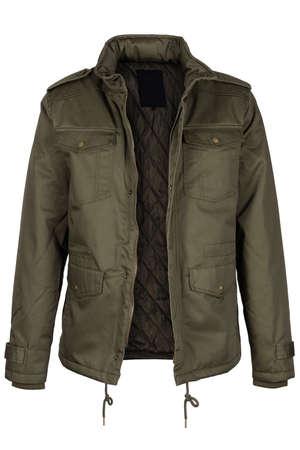 unzipped: Unzipped olive jacket