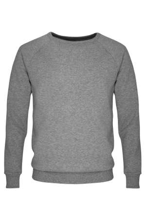 sleeve: Gray long sleeve t-shirt Stock Photo