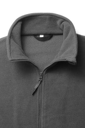 sudadera: cuello de la camiseta de vellón