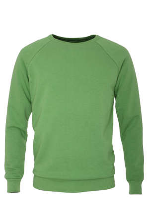 sleeve: Green long sleeve t-shirt Stock Photo