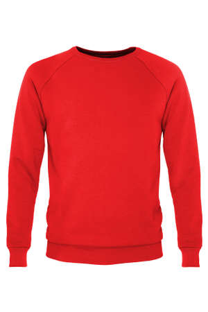 sleeve: Red long sleeve t-shirt