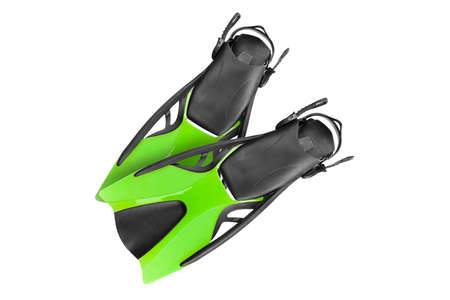The pair of green fins