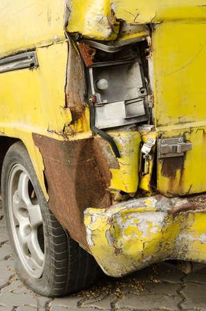 The old van car be Tire leak photo