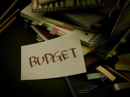 Somebody Left the Message on Your Working Desk; Budget Reklamní fotografie