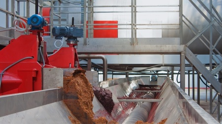 fermentation: Wine making process, modern plant equipment