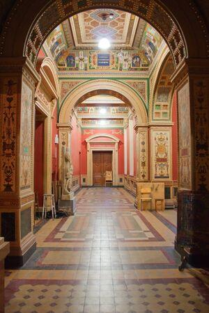 The Saint Petersburg State Art and Industry Academy, named after Alexander von Stieglitz (former Vera Mukhina). Russia