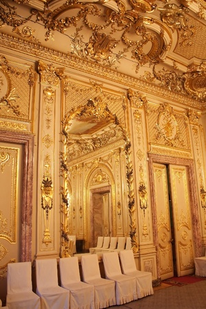 Interiors of the Polovtsov mansion - Architects house, Saint Petersburg, Russia