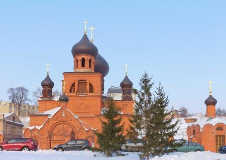 believers: Pokrovsky Cathedral (Old Believers) in Kazan, Republic of Tatarstan, Russia