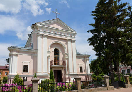 Roman Catholic Church of St. Barbara in Berdychiv, Ukraine photo