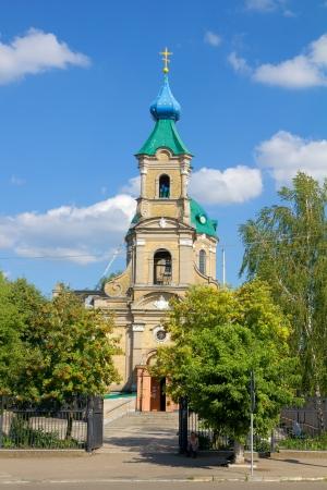 sobor: St. Nicholas Cathedral (Nikolsky sobor) Berdychiv, Zhytomyr Region, Ukraine Stock Photo