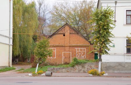 Old Red brick house for sale in Korosten, Ukraine photo