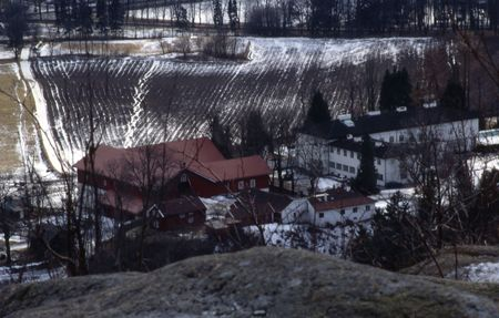 Skaugum, home of crown prince Haakon and crown princess Mette Marit. Stok Fotoğraf - 265475