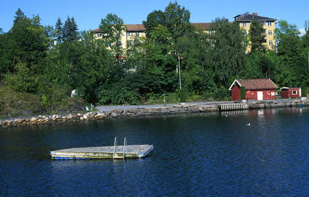 Blakstad mental hospital in Asker in Norway. Stok Fotoğraf - 305355