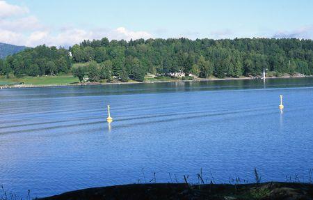 Hvalstrand in Asker in Norway Stok Fotoğraf - 343759